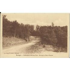 CPA: SABLES D'OR Les Pins, Ronde du Bois d'Amour, vers 1920