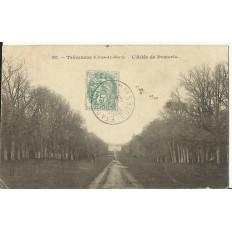 CPA: TREVENEUC, l'Allée de Pomorio, vers 1900