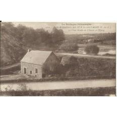 CPA: MUR-DE-BRETAGNE,Vallée de Poulancre, Vieux Moulin, vers 1900