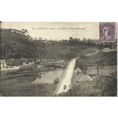 CPA: NKERITY, la Vallée & l'Etang de Beauport, vers 1910