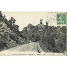 CPA: LEHON, Ruines du Chateau, vers 1920