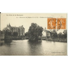 CPA: JUGON (environs), Chateau de Beaubois, vers 1920