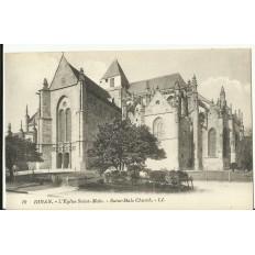 CPA: DINAN, L'Eglise Saint-Malo, vers 1900