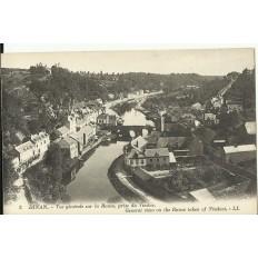CPA: DINAN, Vue Générale sur la Rance, vers 1900