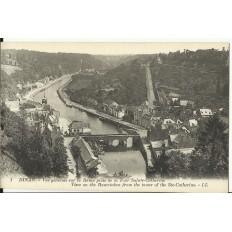 CPA: DINAN, Une Vue Générale sur la Rance, vers 1900