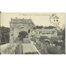 CPA: DINAN, Chateau de la Duchesse Anne, vers 1910
