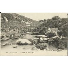 CPA: HUELGOAT, La Rivière du Fao, vers 1900