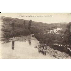CPA: CARHAIX, La Vallée de l'Hyères au moulin du Roy, vers 1930