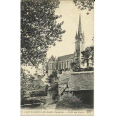 CPA: CHATEAUNEUF-DU-FAOU, N-D.des Portes, vers 1900