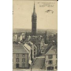 CPA: SAINT-POL-DE-LEON, Vue Générale, vers 1910