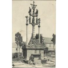 CPA: SAINT-THEGONNEC, Le Calvaire, vers 1910