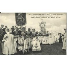 CPA: STE-ANNE LA PALUE, Procession du Pardon, vers 1920