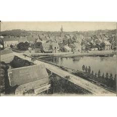 CPA: HUELGOAT, Vue Générale, vers 1900