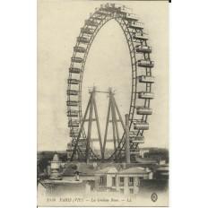 CPA: PARIS (VIIe), La Grande Roue, vers 1900