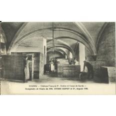 CPA: COGNAC,CHATEAU François 1er, Entrée & Corps de Garde, vers 1910