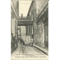 CPA: COGNAC,CHATEAU François 1er, Les Ponts, vers 1910