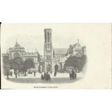 CPA: PARIS , Saint-Germain l'Auxerrois, Années 1900