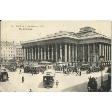 CPA: PARIS , LA BOURSE, Années 1910