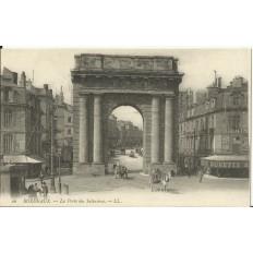 CPA: BORDEAUX, La Porte des Salinières, vers 1900