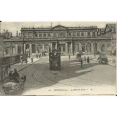 CPA: BORDEAUX, L'HOTEL DE VILLE, vers 1900