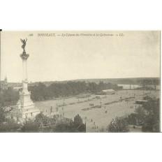 CPA: BORDEAUX, LA COLONNE DES GIRONDINS, vers 1900
