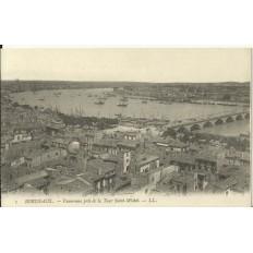 CPA: BORDEAUX, PANORAMA pris de la Tour St-Michel, vers 1900