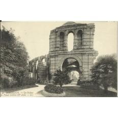 CPA: BORDEAUX, Les Ruines du Palais Gallien, vers 1900