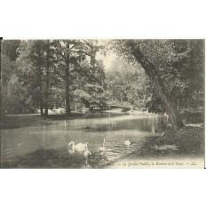 CPA: BORDEAUX, Le Jardin Public, vers 1900