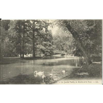 Cpa bordeaux le jardin public vers 1900 for Jardin public 78