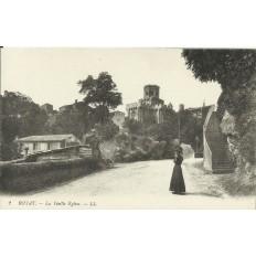 CPA: ROYAT, la Vieille Eglise, vers 1900