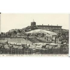 CPA: PUY-DE-DOME, les Ruines du Temple de Mercure, vers 1900