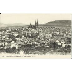 CPA: CLERMONT-FERRAND, Vue Générale, vers 1900