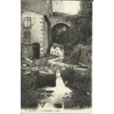 CPA: ROYAT, la Tiretaine vers 1900