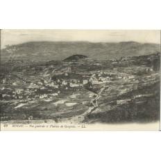 CPA: ROYAT, Vue Générale et Plateau de Gergovie, vers 1900