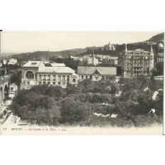 CPA: ROYAT, le Casino et le Parc, vers 1900