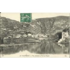 CPA: LE DAUPHINE, Vue Générale de Pont-en-Royans, Années 1900.