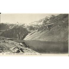 CPA: CAUTERETS (environs),Le Lac Bleu d'Illéou, vers 1900