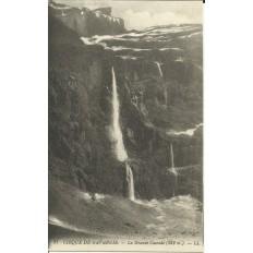 CPA: CIRQUE DE GAVARNIE, la Grande Cascade, vers 1900