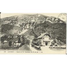 CPA: LOURDES, Chemin de Fer Funiculaire du Pic du Jer, vers 1900