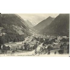 CPA: CAUTERETS , Panorama pris du Mamelon Vert, vers 1900