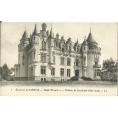 CPA: BREZE, Chateau de Granfonds (coté ouest), vers 1920