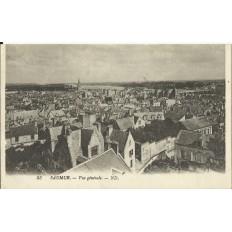 CPA: SAUMUR, Vue Générale, vers 1900