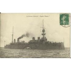 """CPA: LE CROISEUR CUIRASSE """"DUPETIT-THOUARS"""", vers 1910"""