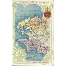 CPA: Le Finistère (Ed.CHOCOLATERIE D'AIGUEBELLE), vers 1910