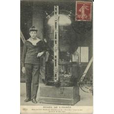 "CPA: MUSEE DE L'ARMEE, Mine Allemande ""Le Trouville"", 1917"