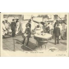 CPA: MARINE NATIONALE. Branle bas de combat, vers 1900