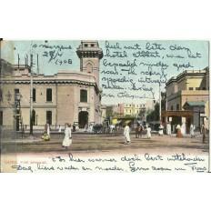 CPA: EGYPTE, Le Caire, La Brigade du Feu, années 1900