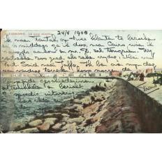 CPA: EGYPTE, Alexandrie, Le Quai Nouvel, années 1900