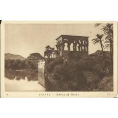 CPA: EGYPTE, Scène dans le Désert, années 1920