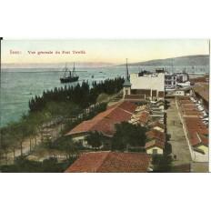 CPA: EGYPTE, Vue Générale du Port Tewfik, années 1910